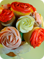 Centre piece cupcake bouquet